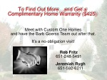 to find out more and get a complimentary home warranty 425