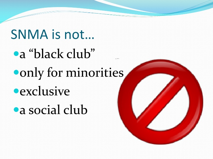 SNMA is not…