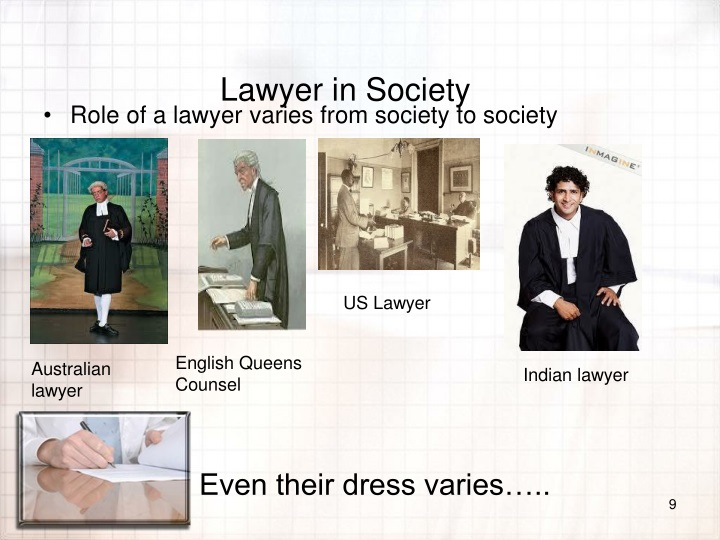 Lawyer in Society