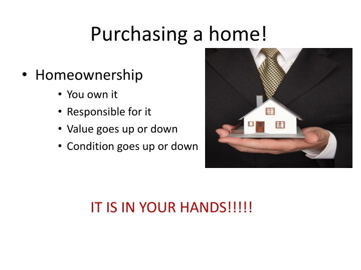 Purchasing a home!