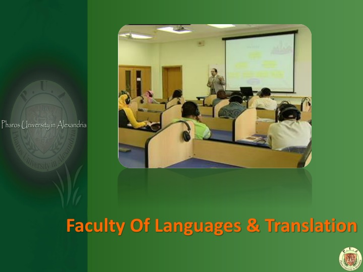 Faculty Of Languages & Translation