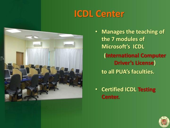 ICDL Center