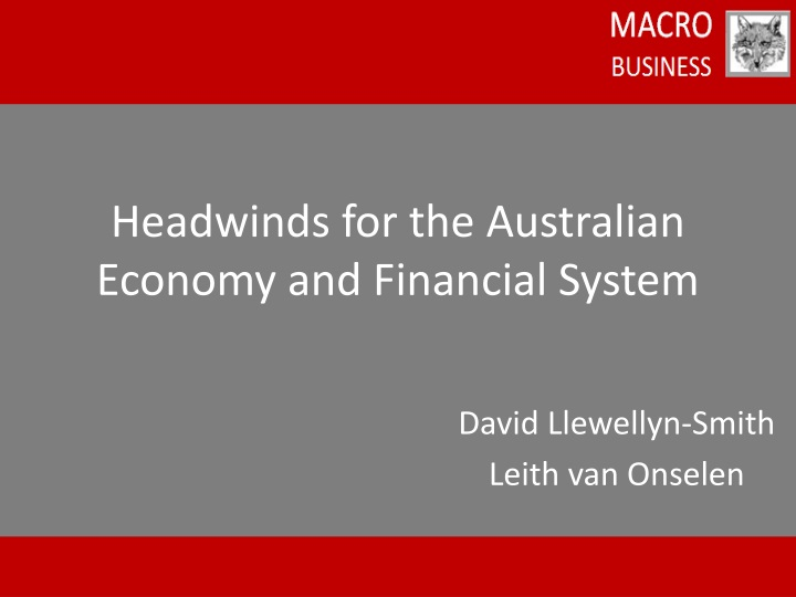 a report and overview on the australian economy Enjoy a contrarian outlook on the australian economy — and how movements beyond our borders could affect your stocks, retirement fund or the value of your home go here for more.