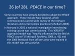 26 of 28 peace in our time