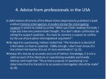 4 advice from professionals in the usa