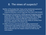 8 the views of suspects