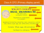 class a cfo primary display panel