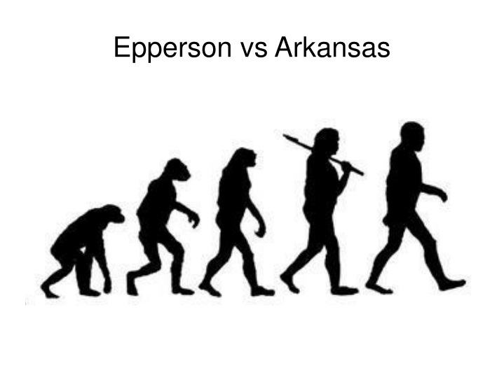 Epperson vs Arkansas