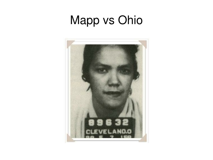 Mapp vs Ohio