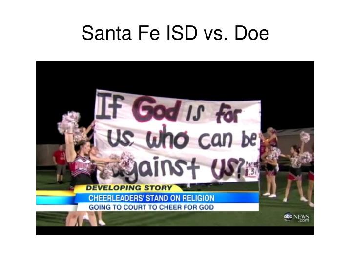 Santa Fe ISD vs. Doe