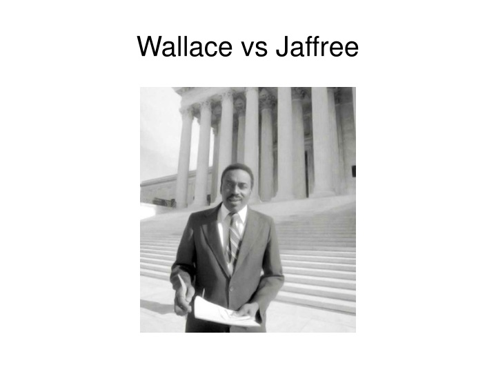 Wallace vs Jaffree