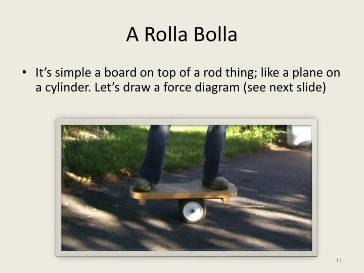 A Rolla Bolla