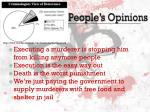 people s opinions