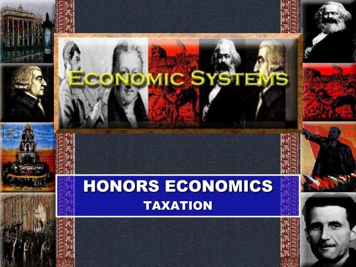 Honors economics taxation