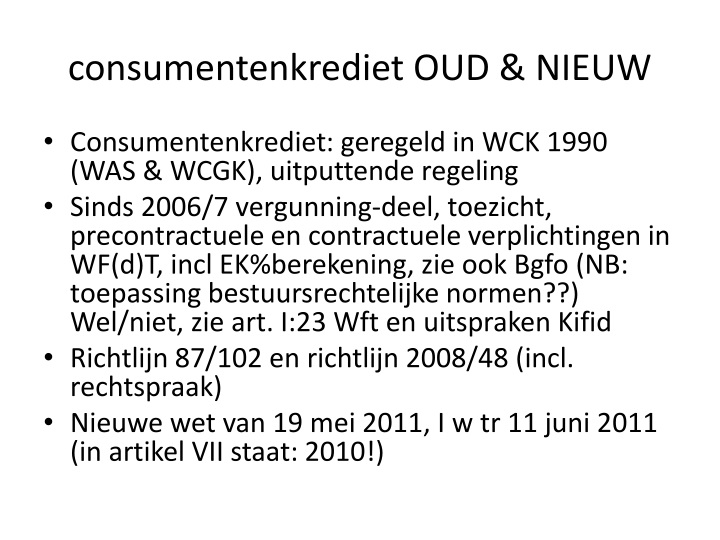 consumentenkrediet