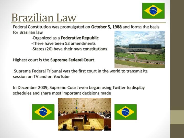 Brazilian Law