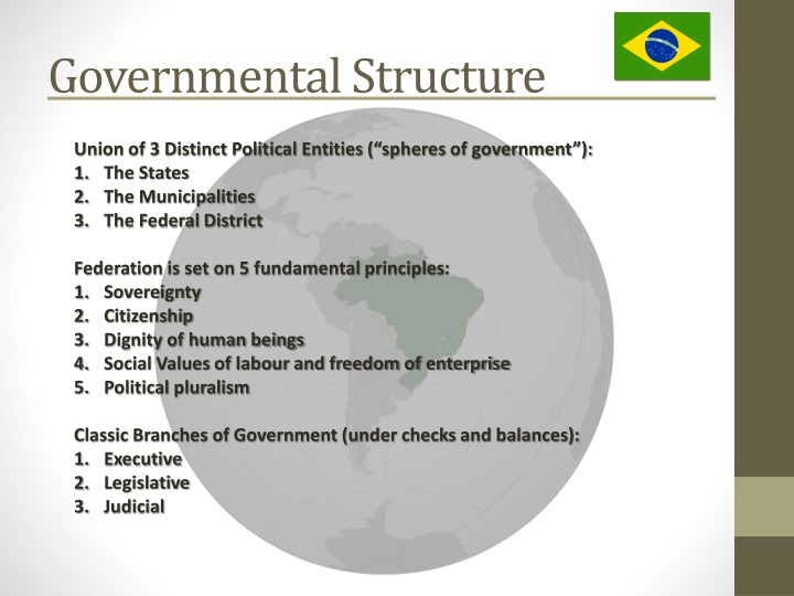 Governmental structure