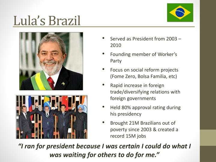 Lula's Brazil