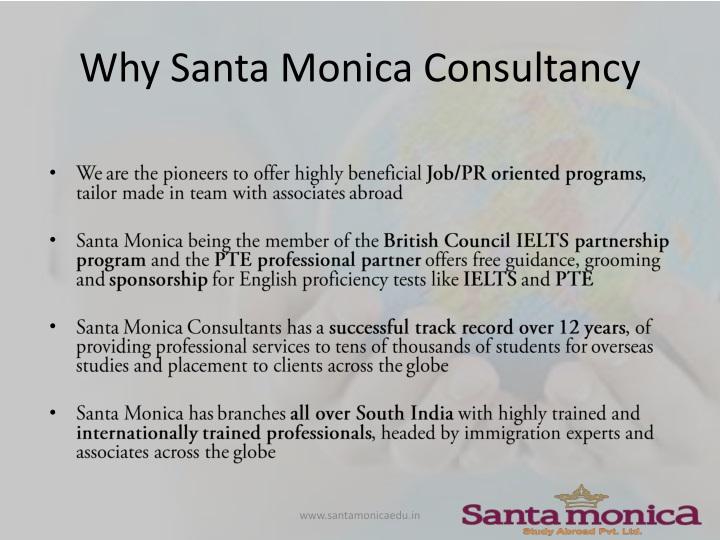 Why Santa Monica