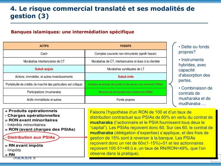 4. Le risque commercial translaté et ses modalités de gestion (3)