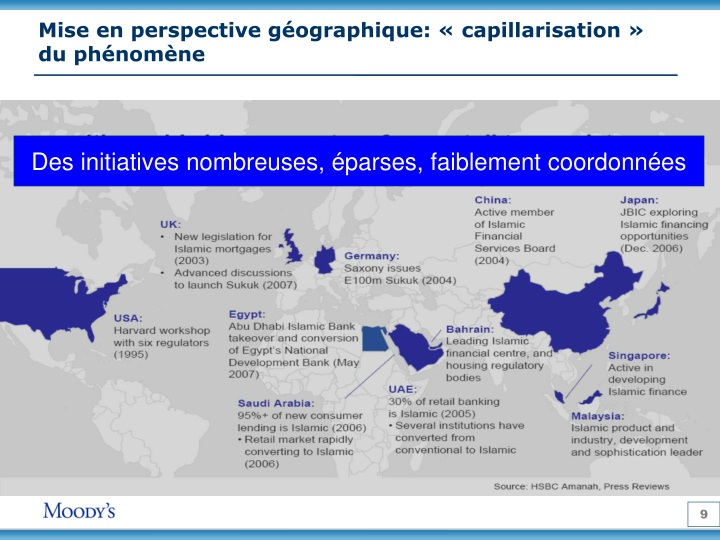 Mise en perspective géographique: «capillarisation» du phénomène