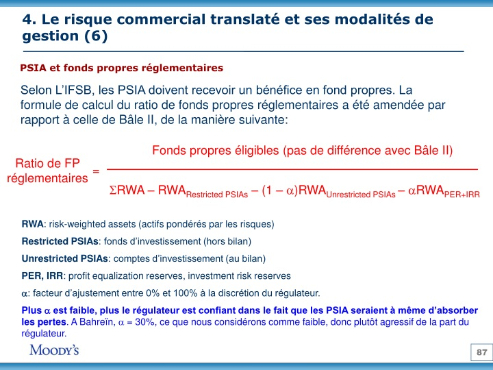 4. Le risque commercial translaté et ses modalités de gestion (6)