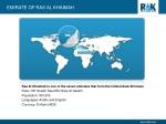 emirate of ras al khaimah