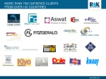 more than 7000 satisfied clients from over 100 countries
