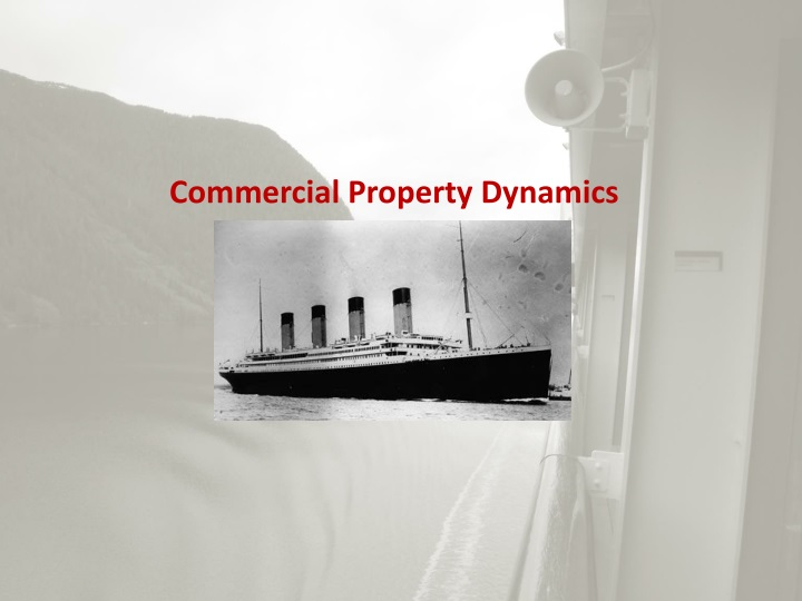 Commercial Property Dynamics