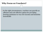 why focus on vouchers