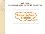 in florida smokers are not a protected class either