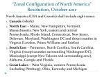zonal configuration of north america resolution october 2011