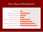 fact sheets distributed