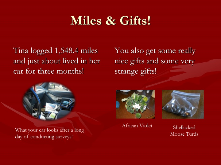 Miles & Gifts!