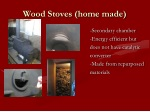 wood stoves home made
