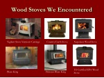 wood stoves we encountered