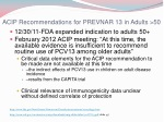 acip recommendations for prevnar 13 in adults 50