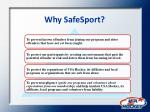 why safesport