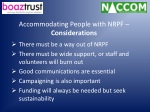 accommodating people with nrpf considerations