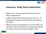 cameroon study policy implications