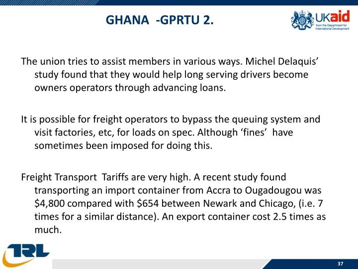 Ghana  -GPRTU 2.