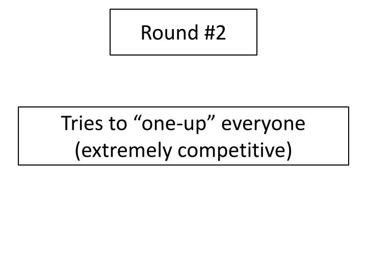 Round #2