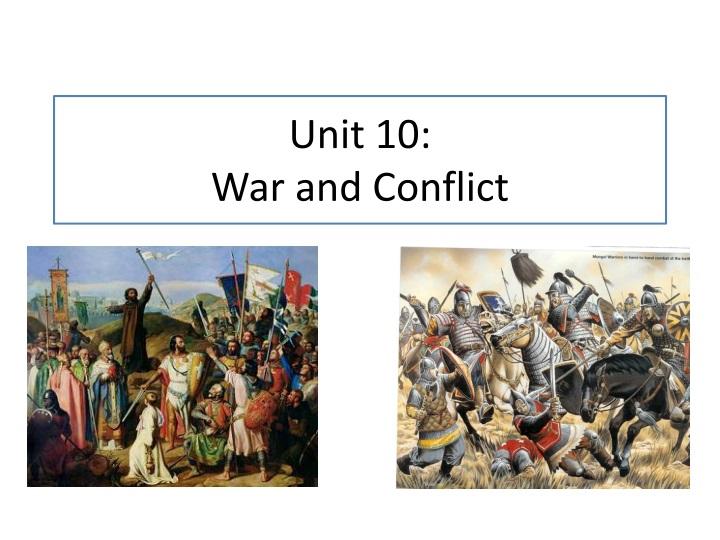 Unit 10: