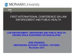 first international conference on law enforcement and public health