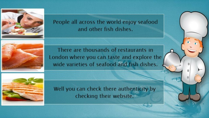 Fish and seafood restaurant in chigwell