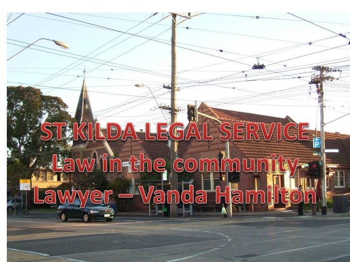 ST KILDA LEGAL SERVICE
