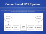 conventional sds pipeline