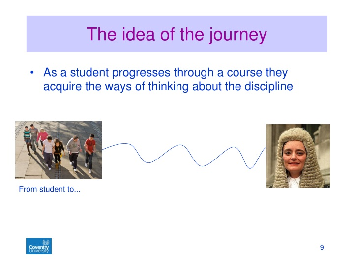 The idea of the journey
