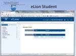 elion student