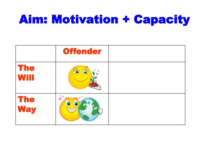 Aim: Motivation + Capacity
